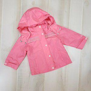 Oshkosh Girls Pink Jacket 18M Vintage
